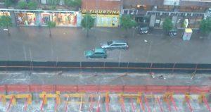 roma inundación
